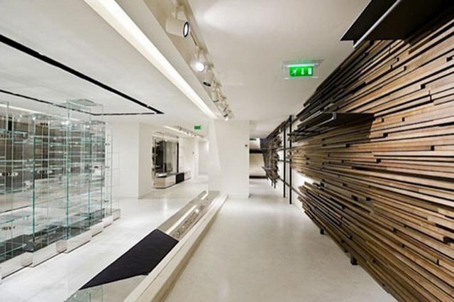 Placare cu lemn de esente diferite pentu perete