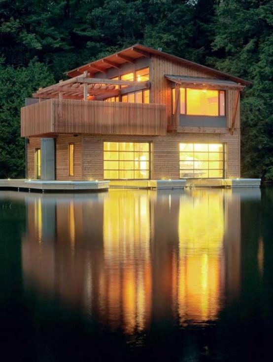 Seara pe lac