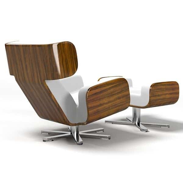 Arta Contemporana - Wing Lounge Chair Lyx