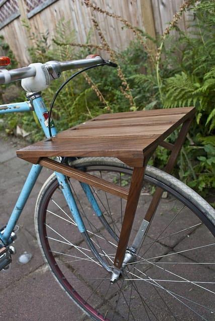 Portbagaj de lemn eco