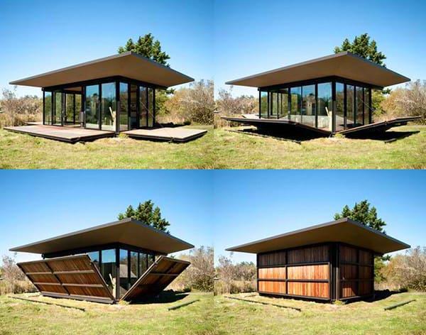 casa modulara casa care se transforma