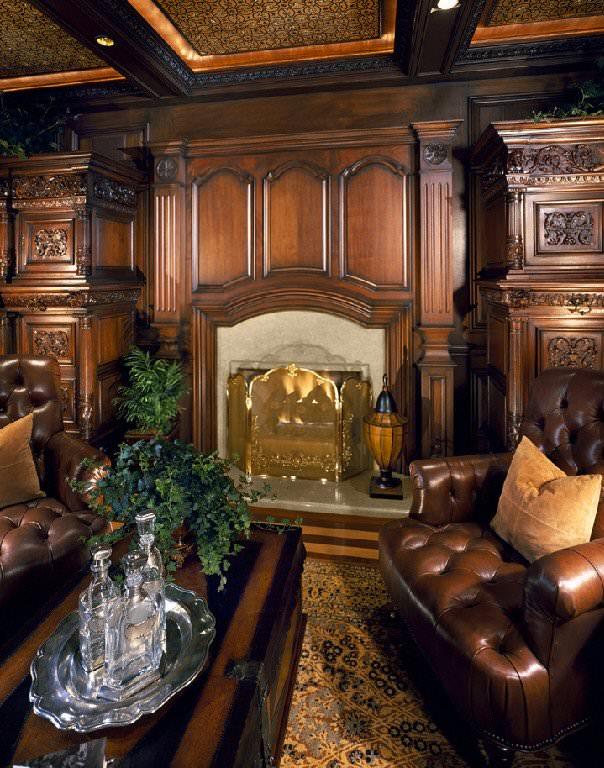 Decor interior opulent