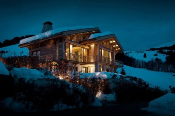 Cabana din Alpi francezi
