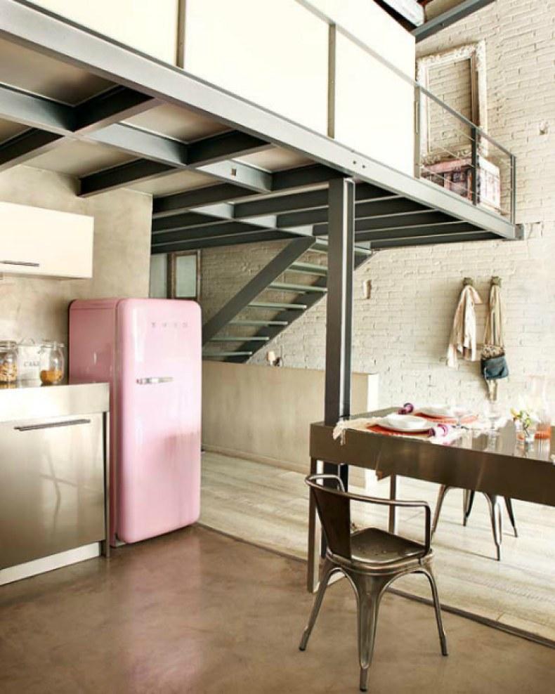 frigider retro stil vintage