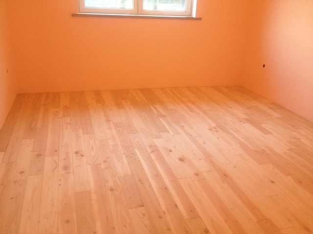 montaj final podele de lemn - montaj podele