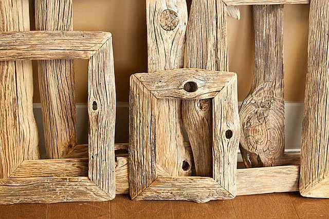 rame de tablou de lemn