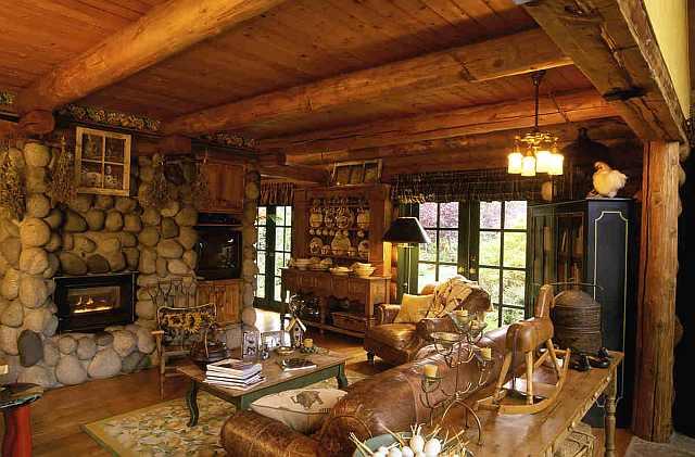 decor interior rustic
