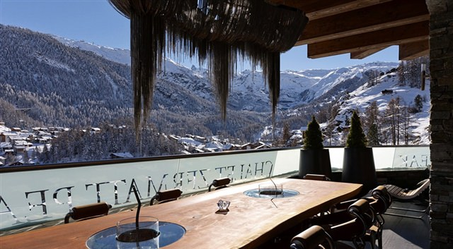 cabana de schi