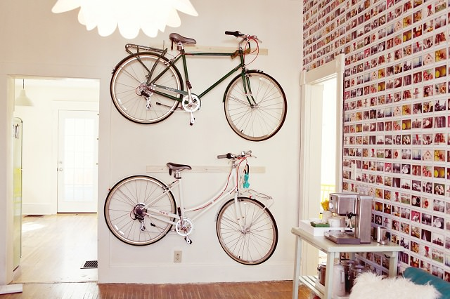 biciclete pe perete