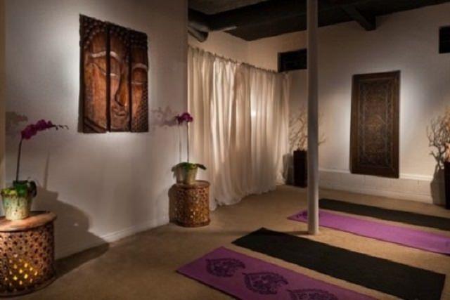 camera minimalista pentru meditat