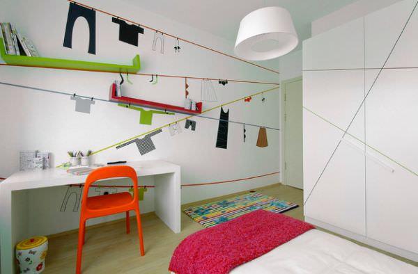 camera unui copil modern