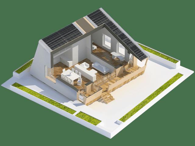 proiectul Prispa - casa Pasiva