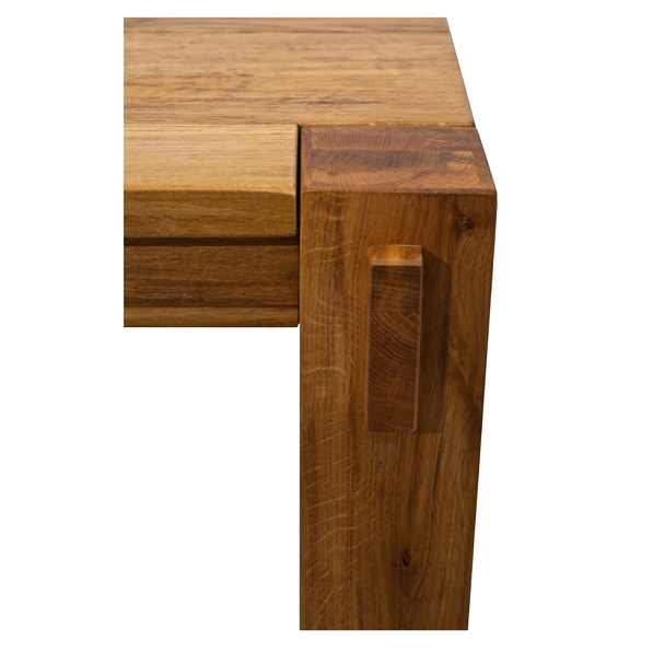 lemn masiv de stejar - masa fixă Porto