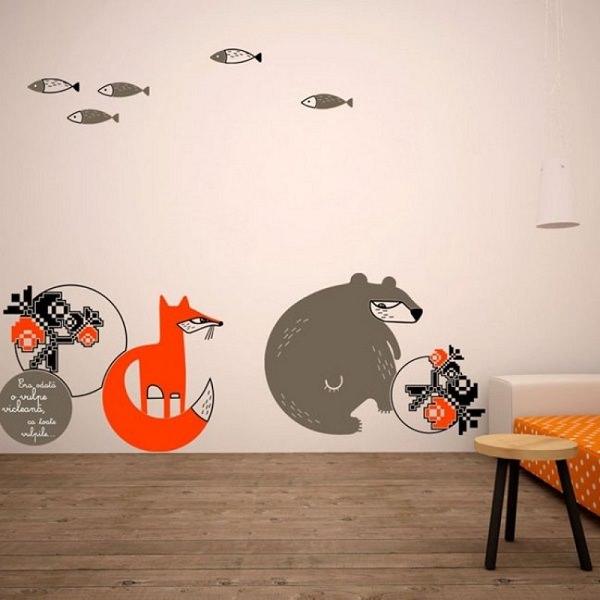 sticker decorativ pentru pereti