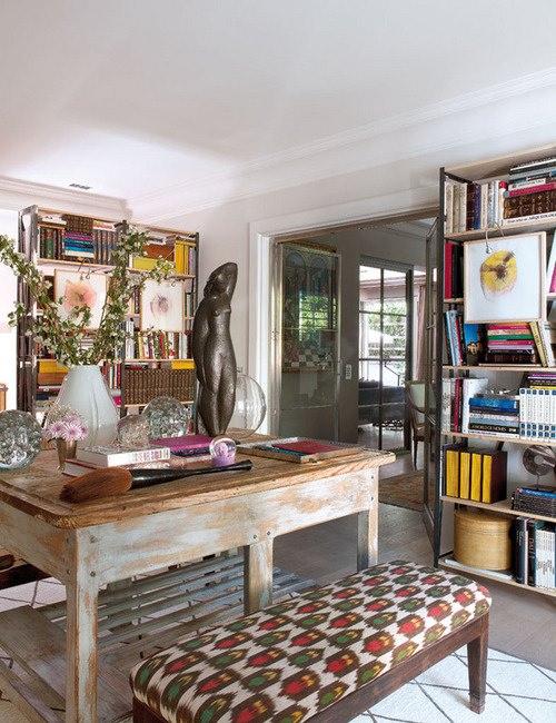 birou in stil rustic