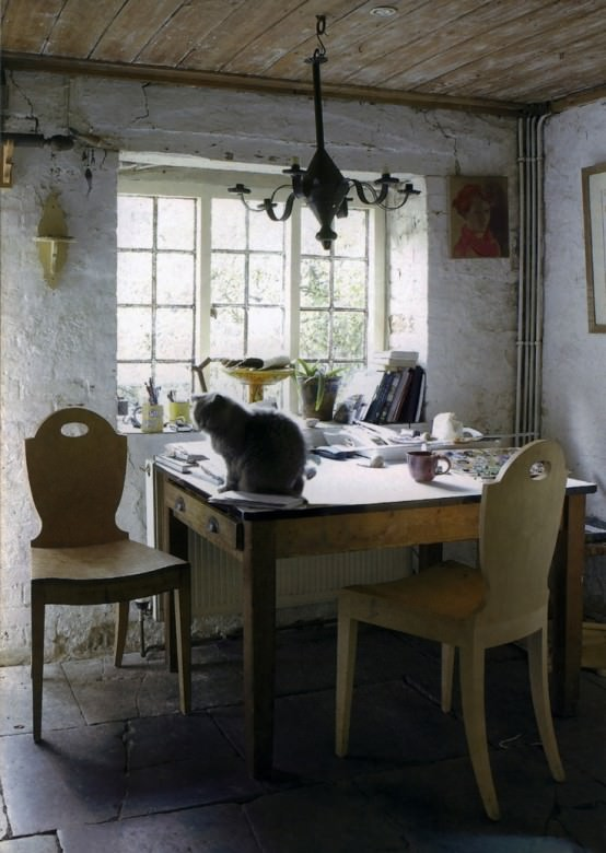design vintage - - biroul de acasa