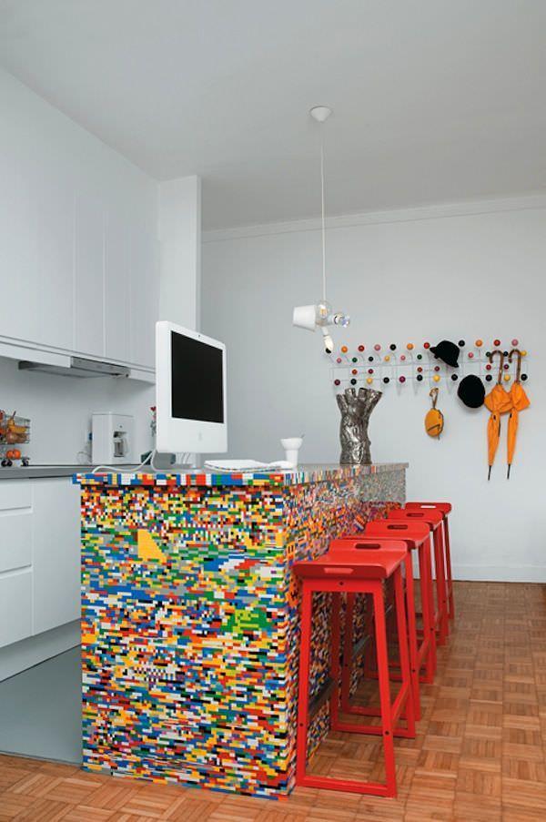 insulita de bucatarie din lego