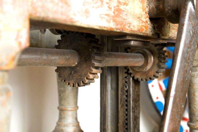 masa vintage industrial