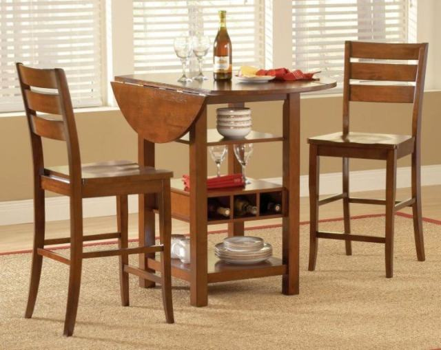 masa de bar cu scaune - mese de bar ovale, rabatabile