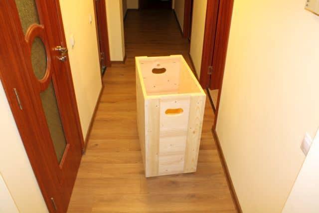 cutie de brad
