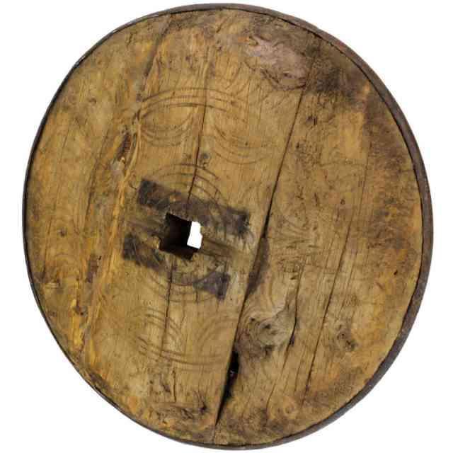 roata de lemn - originala