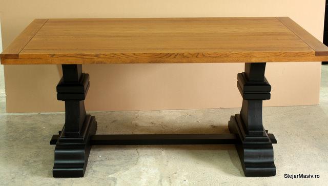 mobila din lemn masiv - masa britain