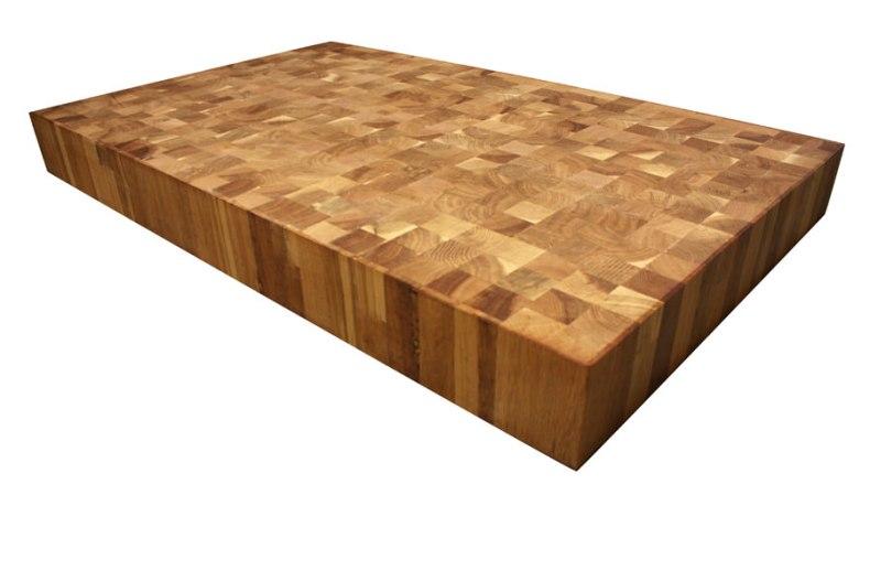 tocator din lemn lipit pe final de fibra blaturi de masa