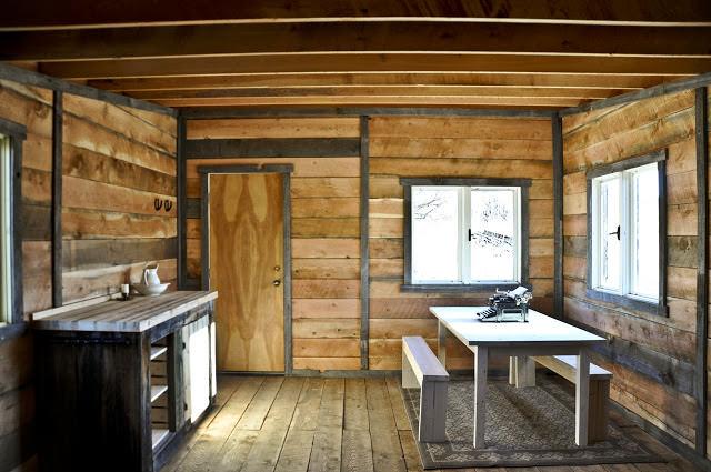 design rustic industrial - decorare minimalista