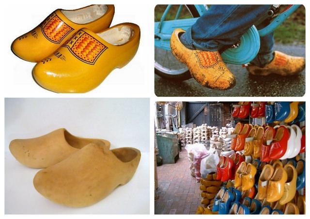 papuci olandezi - clogs