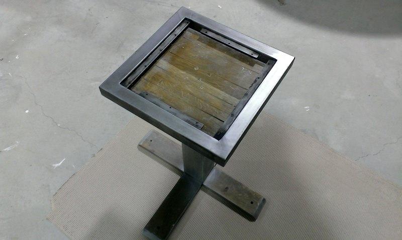 mobilier-HORECA - ranforsat metalic