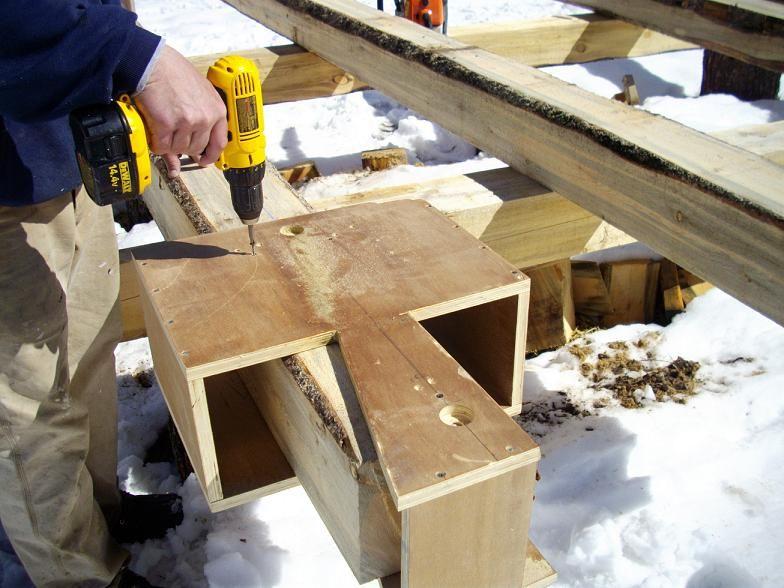 solutii cabana din lemn