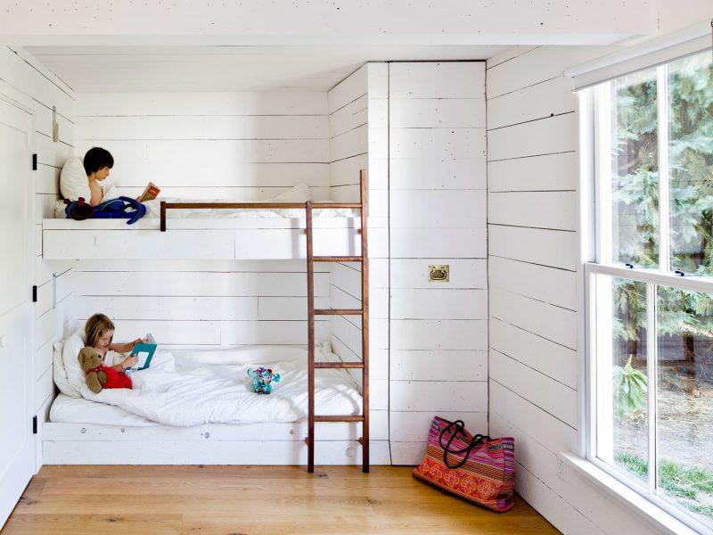 camera copiilor cu pat suprapus - Jessica Helgerson