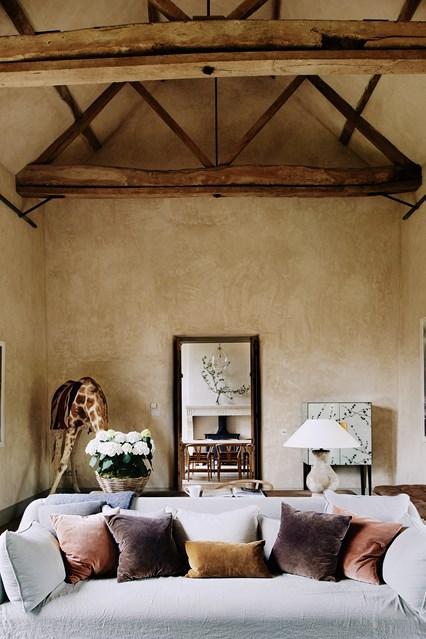 living room hambar transformat