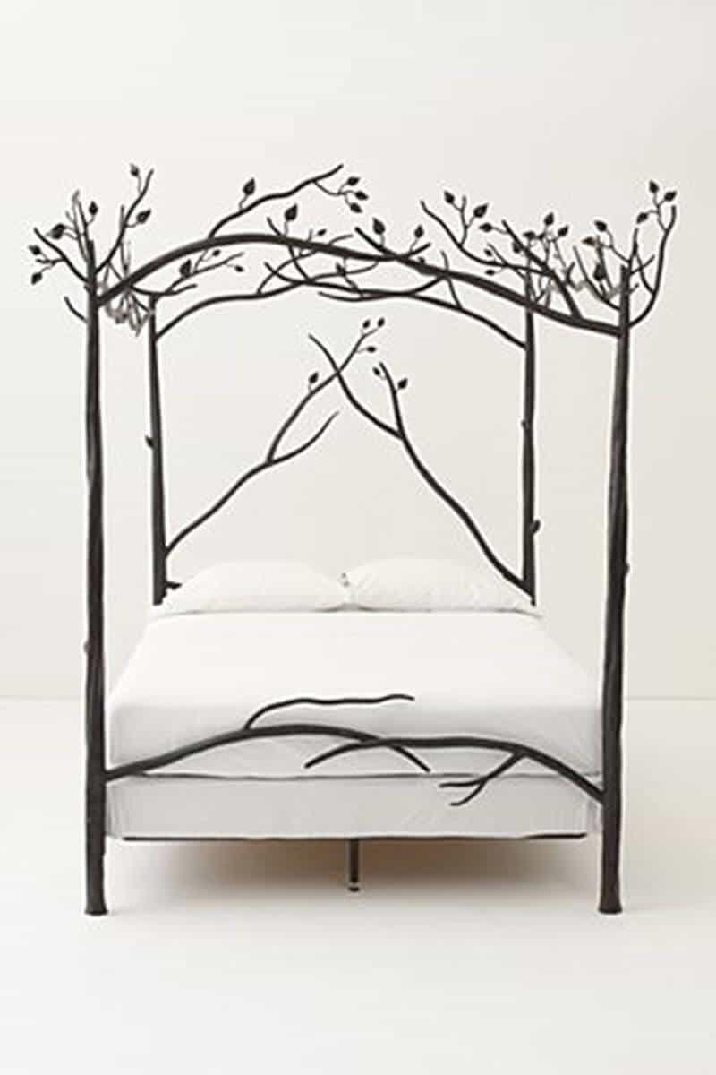 patul copac