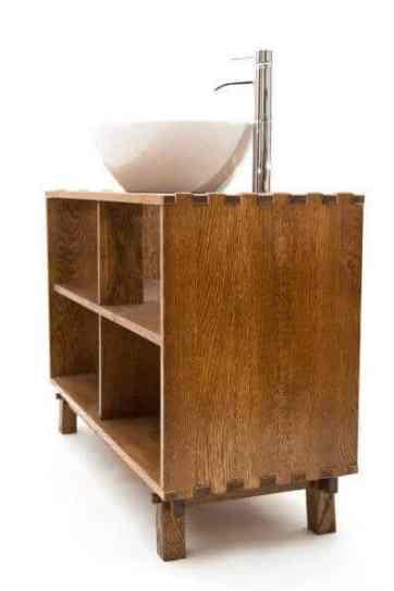 suporturi din lemn pentru lavoar sau chiuveta