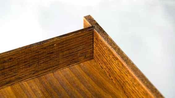 birou S din stejar masiv