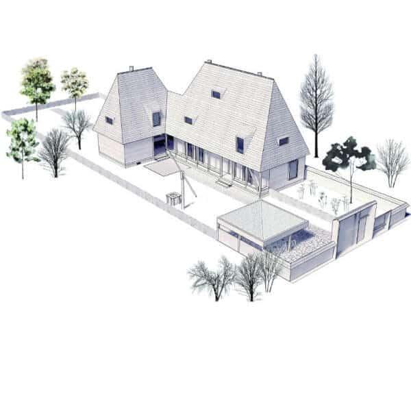 planuri gratuite case din lemn mari