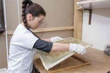 restaurare tablou Dan Bajenaru