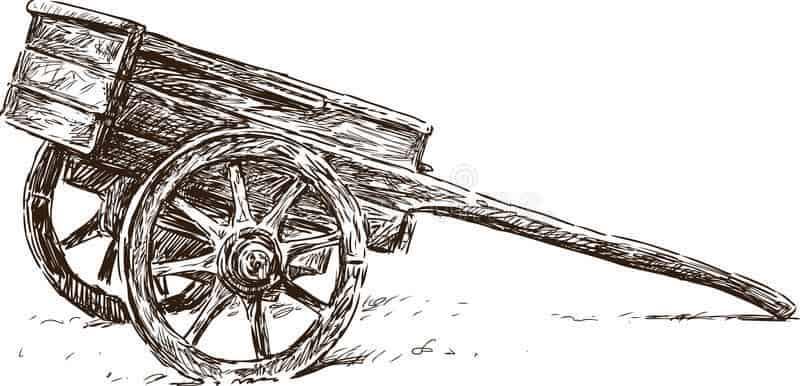esenta de lemn - desen grafic