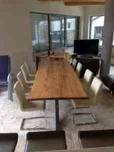 masa cu scaune rustic industrial