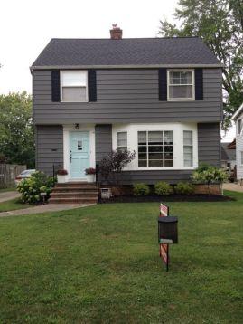 finisaj exterior negru case din lemn sau acoperisuri