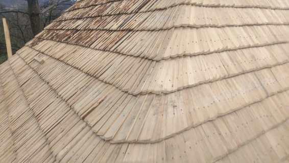 dranita pe cabana de la Baia Sprie