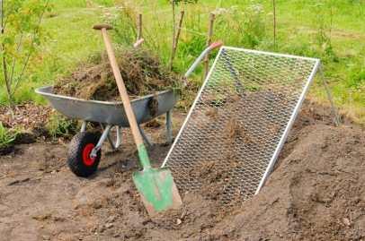 metoda clasică -sortarea pământului - pâmânt cernut
