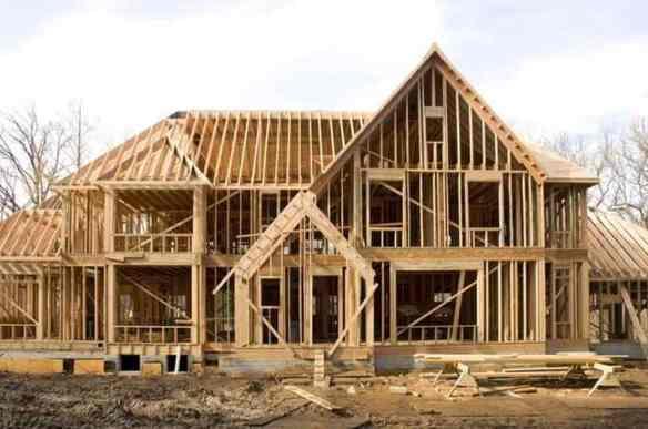 structura din lemn pentru casa