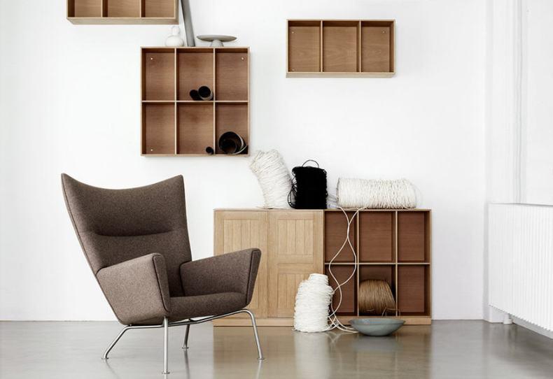 Carl Hansen Mogens Koch Bookcase