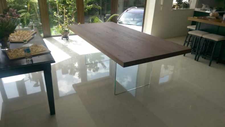 masa Oak Glass in Bistrita