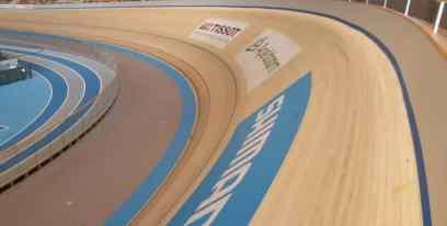 Accoya Overseas - pista de ciclism din lemn accoya