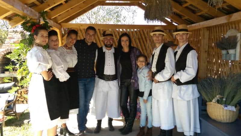 Imagine de grup la Cerdacul cu Lavandă