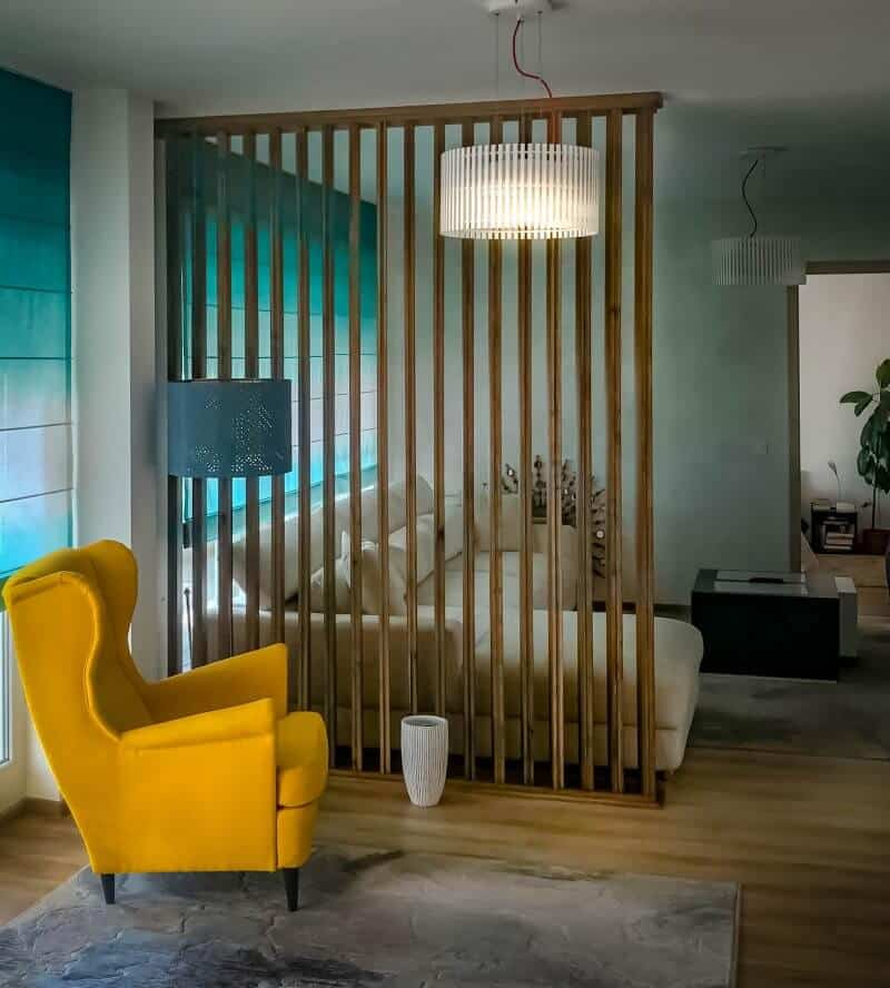 perete riflat - design interior Sergiu Teleuta