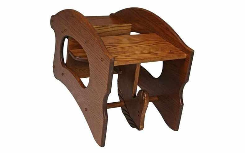 scaun de copii din lemn